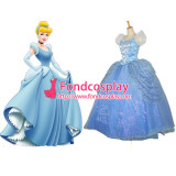 Beautiful Princess Cinderella Dress Dancing Party Dress Movie Cosplay Costume Custom-Made[G657]