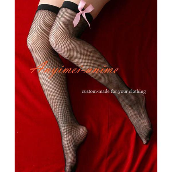 Gothic Lolita Punk Fashion Silk Stocking Socks Cosplay Costume Custom-Made[CK1067]