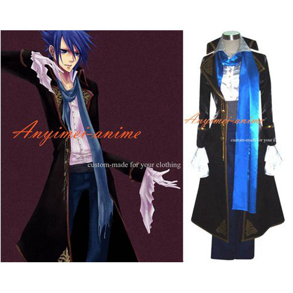 Vocaloid Kaito Dress Jacket Coat Cosplay Costume Tailor-Made[G322]