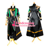 The Avengers Loki Outfit Jacket Coat Moive Cosplay Costume Tailo-Made[G990]