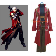 Devil May Cry 2 Dmc Dante Jacket Coat Game Cosplay Costume Custom-Made[G269]