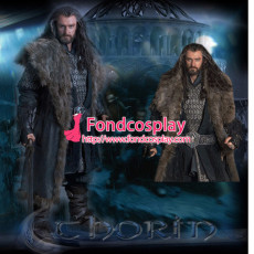 The Hobbit-Desolation Of Smaug-Thorin Oakenshield Costume Cosplay Tailor-Made[G1289]