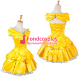 Belle Princess Short Dress Movie Costume Cosplay Tailor-Made[G1001]