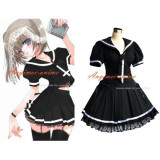 School Uniform Gothic Lolita Dress Cosplay Costume Tailor-Made[G339]