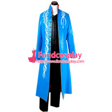 Devil May Cry 2 Dmc Vergil Coat Game Cosplay Costume Tailor-Made[G749]