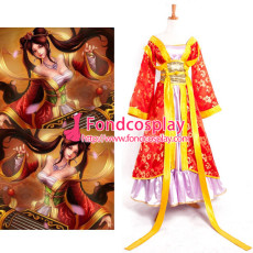 Lol Sona Buvelle Maven Of The Strings Princess Dress Game Cosplay Costume Custom-Made[G892]