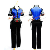 Halloween Tekken 6 Japan Lee Chaolan Jacket Pants Game Cosplay Costume Custom-Made[G578]