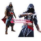 Assassins Creed Acr Ezio Auditore Jacket Coat Cosplay Costume Tailor-Made[G893]