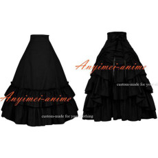Medieval Gown Gothic Lolita Punk Cotton Skirt Cosplay Costume Custom-Made[G482]