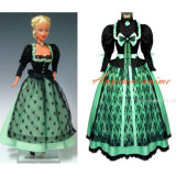 Sd Barbie Doll Dress Party Evening Dress Cosplay Costume Custom-Made[G555]