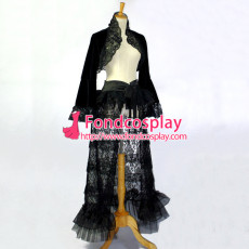 O Dress The Story Of O Jacket Coat Skirt Cosplay Costume Tailor-Made[G828]