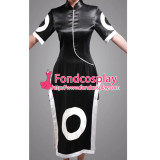 Naruto Haruno Sakura Black Satin Dress Cosplay Costume Tailor-Made[G088]