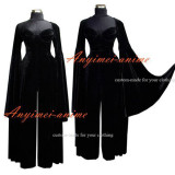 O Dress The Story Of O With Bra Velvet Gothic Dress Cosplay Costume Custom-Made[G561]