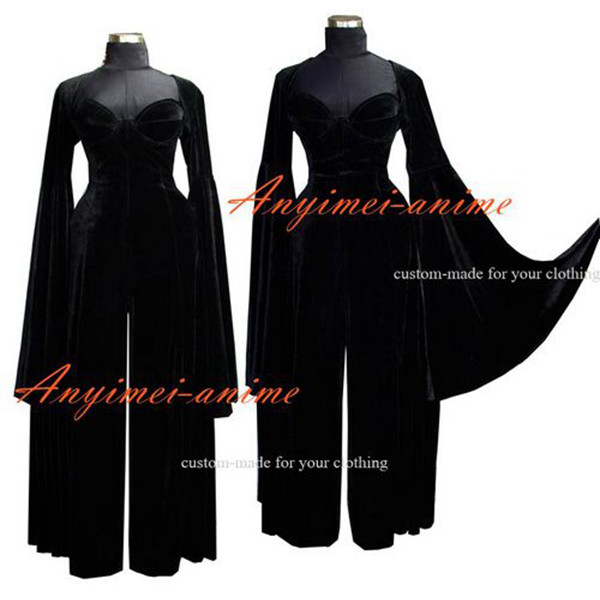O Dress The Story Of O With Bra Velvet Gothic Dress Cosplay Costume Custom-Made[G561]