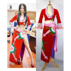 One Piece Boa Hankokku Dress Cosplay Costume Tailor-Made[G638]