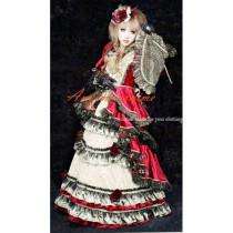 Versailles Hizaki Visual J Rock Outfit Dress Cosplay Costume Tailor-Made[CK983]