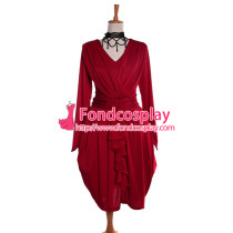 Gothic Lolita Red Gown Dress Cosplay Costume Tailor-Made[G987]