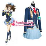 Medaka Box School Uniform Dress Cosplay Costume Tailor Made[G877]