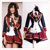 Japan'S Singing Group Akb48 Team Atsuko Maeda Dress Outfit Cosplay Costume Custom-Made[G674]
