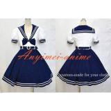 Navy Uniform Dress Lolita School Girl Cotton Dress Cosplay Costume Tailor-Made[CK1311]