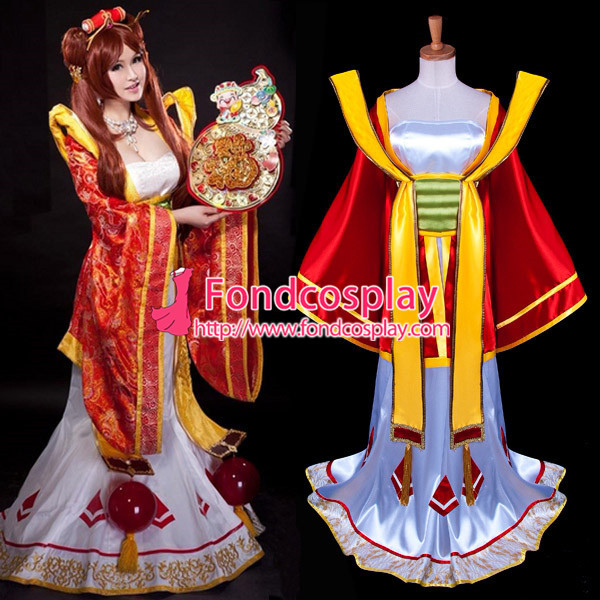 Lol Sona Maven Of The Strings Game Cosplay Costume Tailor-Made[G941]