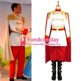 Princess Dress Cinderella The Prince Charming Unifrom Cosplay Costume Tailor-Made[G1335]