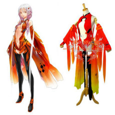 Guilty Crown Inori Yuzuriha Sexy Dress Outfit Cosplay Costume Custom Made[G690]