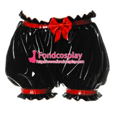 Sissy Maid Pvc Panties Cosplay Costume Tailor-Made[G3700]