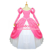 Beautiful Pink Princess Ariel Dress Cosplay Costume Custom-Made[G904]