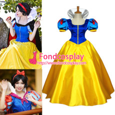 Anime Snow White Princess Dress Movie Cosplay Costume Custom-Made[G636]