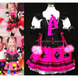 Japan An Cafe Bou Visual J-Rock Dress Outfit Cosplay Costume Tailor-Made[G451]