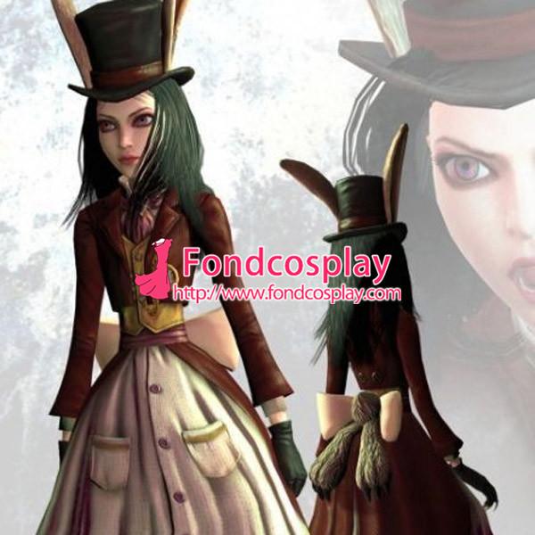 Alice: Madness Returns-Alice Dress Game Costume Tailor-Made[G1000]