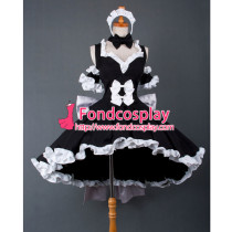 Chobits-Freya Chobits Chii Black Dress Cosplay Costume Tailor-Made[G859]