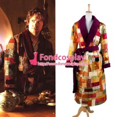 The Hobbit Desolation Of Smaug Bilbo Night Robe Costume Cosplay Tailor-Made[G1339]