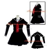 Gothic Lolita Punk Fashion Dress School Uniform Cosplay Costume Tailor-Made[CK962]