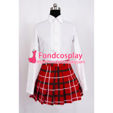 Demo Koi Ga Shitai!-Sanae Dekomori Dress School Uniform Cosplay Costume Custom-Made[G865]