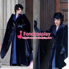 Sherlock Holmes A Game Of Shadows Irene Adler Movie Coat Cosplay Costume Custom-Made[G919]