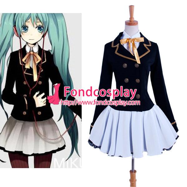 Vocaloid 2 Hatsune Miku Dress Cosplay Costume Tailor-Made[G913]