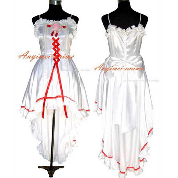 O Dress The Story Of O With Bra Fuchsia Taffeta Dress Tailor-Made[G002]