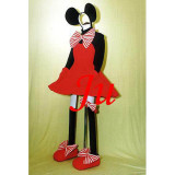 Mickey Mouse Minney Dress Outfit Cosplay Costume Tailor-Made[CK843]