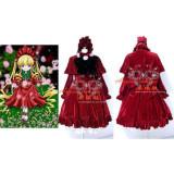 Rozen Maiden Shinku Outfit Dress Cosplay Costume Tailor-Made[CK768]