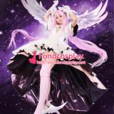 Janpan Anime Puella Magi Madoka Magica Kaname Madoka Cosplay Costume Pink Dress Any Size[CK1378]