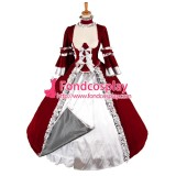 O Dress The Story Of O Bodice With Bra Skirt Cosplay Costume Tailor-Made[G1329]
