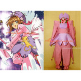 Cardcaptor Sakura Kinomoto Sakura Dress Cosplay Costume Tailor-Made[CK1207]