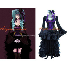 Gothic Lolita Punk Vocaloid Doriko Dress Cosplay Costume Tailor-Made[G323]
