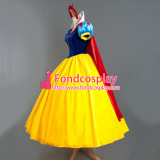 Snow White Princess Dress Belle Dress Christmas Cosplay Costume Custom-Made[G886]