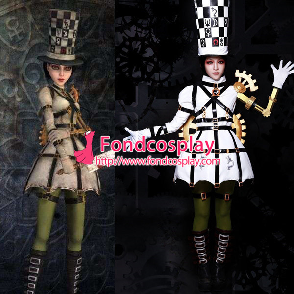 Alice Madness Returns Alice Princess Dress Game Cosplay Costume Tailor-Made[G998]