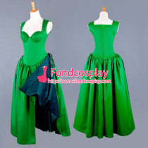 O Dress The Story Of O With Bra Green Cotton Dress Cosplay Costume Tailor-Made[G743]