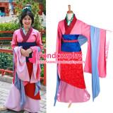 Park Mulan Dress Movie Costume Cosplay Tailor-Made[G1236]
