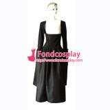 O Dress The Story Of O Black Taffeta Dress Cosplay Costume Tailor-Made[G138]